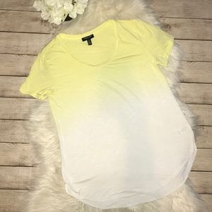 Kenneth Cole NY Yellow Ombré T-Shirt
